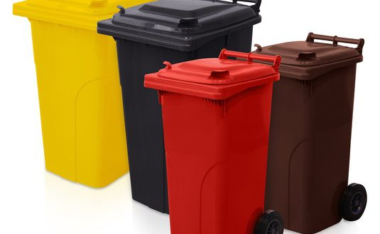 قیمت سطل زباله پلاستیکی چرخدار