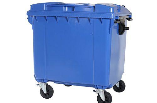 قیمت سطل زباله پلاستیکی مخزنی