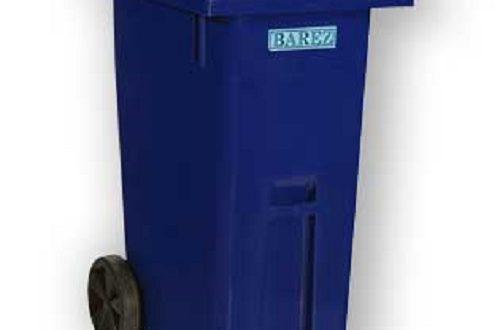 قیمت سطل زباله پلاستیکی بارز