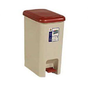 سطل زباله پلاستیکی پدالی بارز