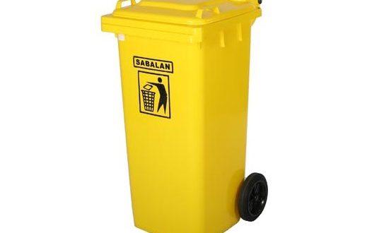 خرید انواع سطل زباله پلاستیکی چرخدار