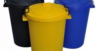 قیمت سطل زباله پلاستیکی درب دار