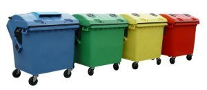 فروش سطل زباله پلاستیکی مخزنی