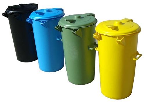 سطل زباله پلاستیکی بزرگ