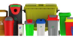 فروش سطل زباله پلاستیکی بارز پلاستیک