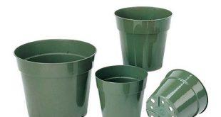 خرید اینترنتی گلدان پلاستیکی نشایی