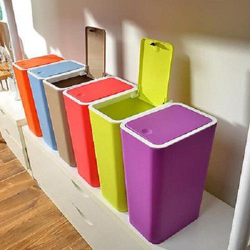 سطل زباله پلاستیکی خانگی ارزان