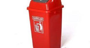 سطل زباله آشپزخانه پلاستیکی ارزان