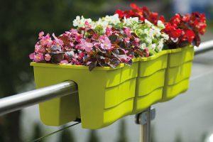 فروش انواع گلدان پلاستیکی دوطرفه