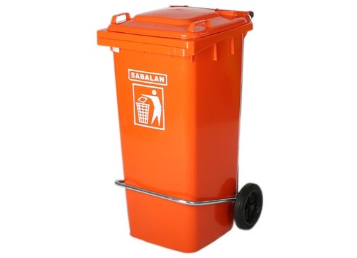 سطل آشغال پلاستیکی سبلان پلاستیک