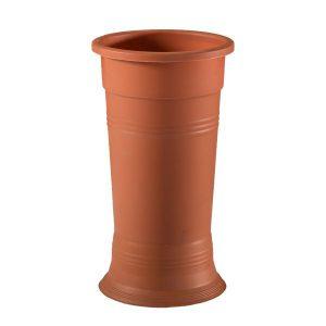 خرید گلدان پلاستیکی استوانه ای