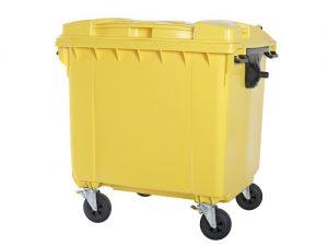 سطل زباله مکانیزه پلی اتیلن