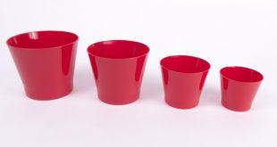 انواع گلدان پلاستیکی کوچک